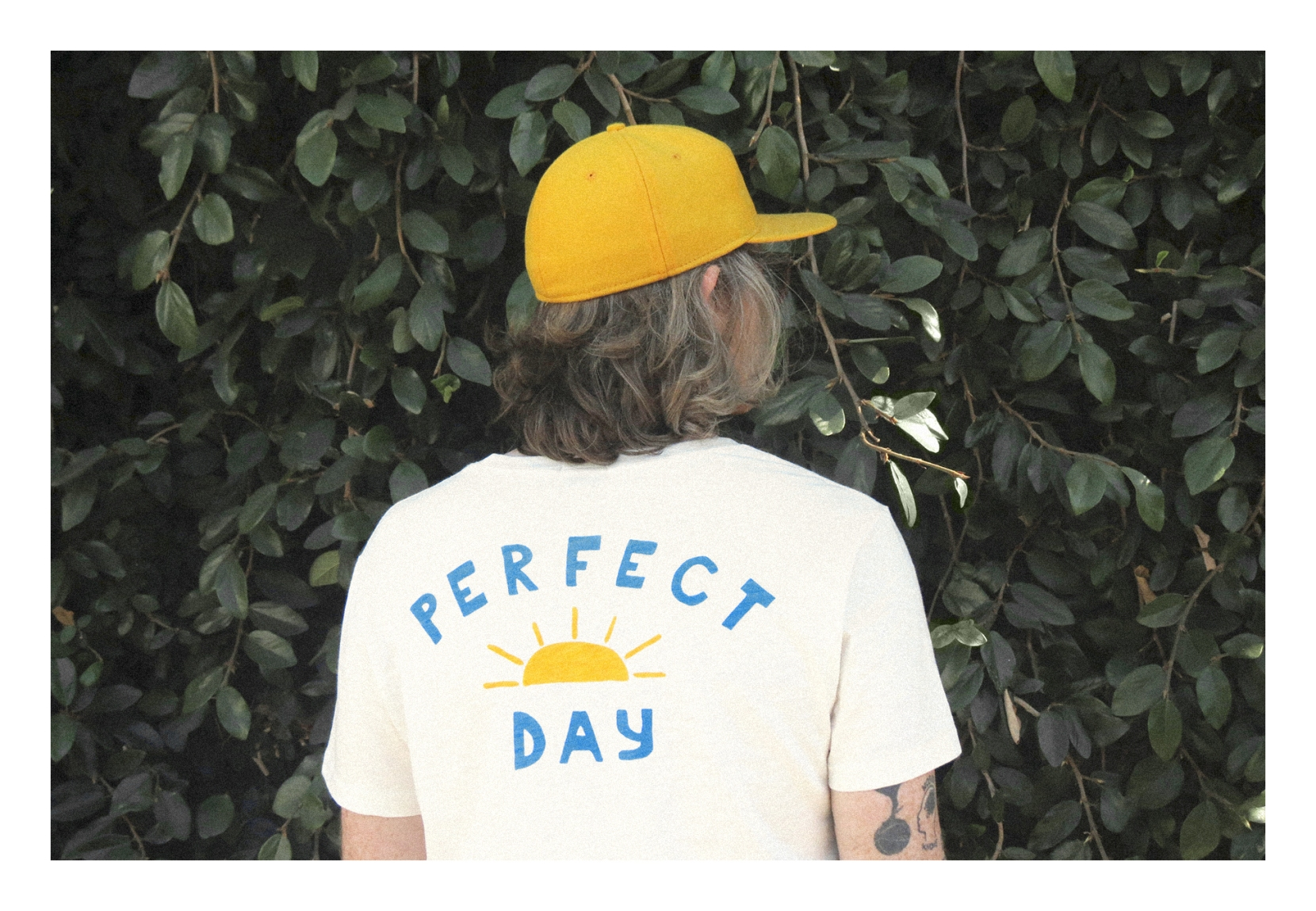 PERFECT DAY POCKET TEE - IVORY