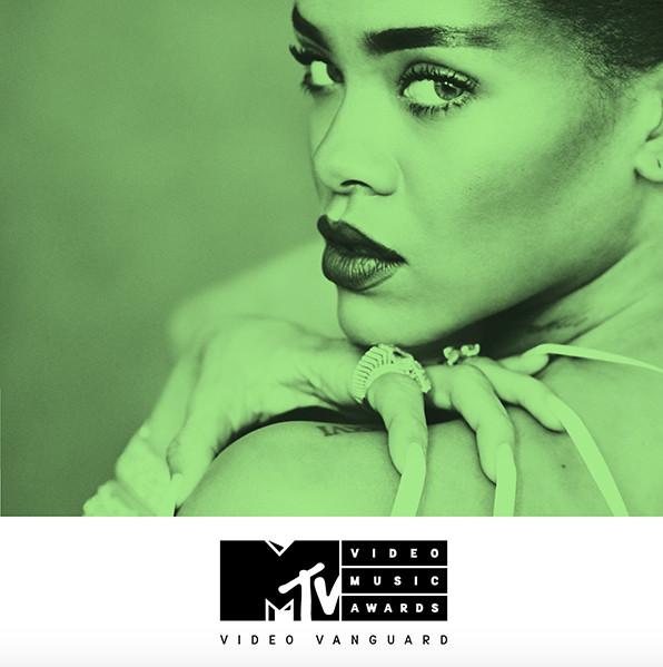 Rihanna Vanguard Award 2016