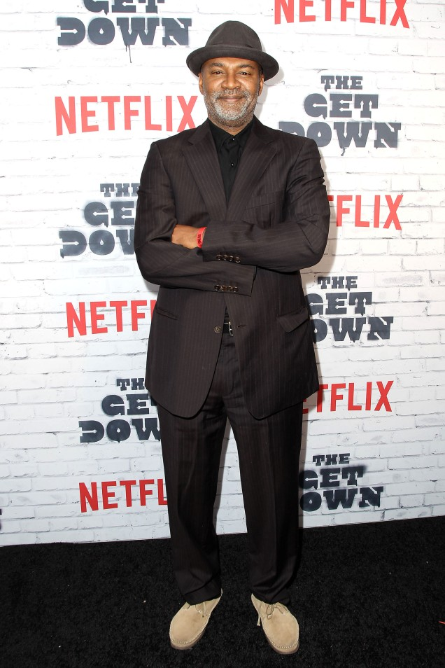 """- New York, NY - 4/5/17 - Netflix New York Kickoff Party for Part Two of """"The Get Down"""" -Pictured: Nelson George -Photo by: Patrick Lewis/Starpix -Location: Irving Plaza"""