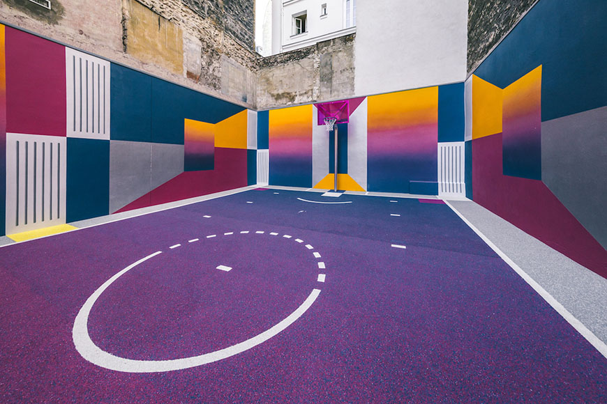 b2ea3212b45c Parisian Hoop Dreams with Pigalle s New Basketball Court – THE 5TH ...