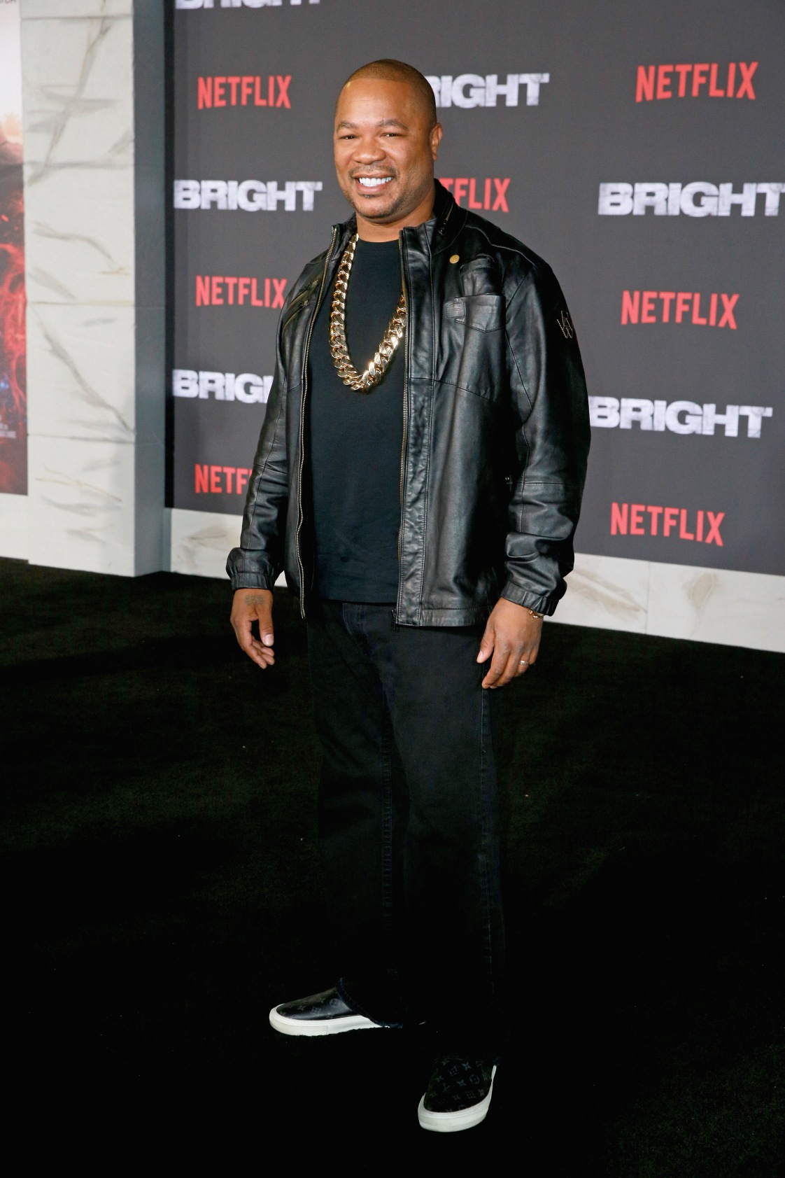 Xzibit attends the LA Premiere of Netflix Films 'BRIGHT' on December 13, 2017 in Los Angeles, California.