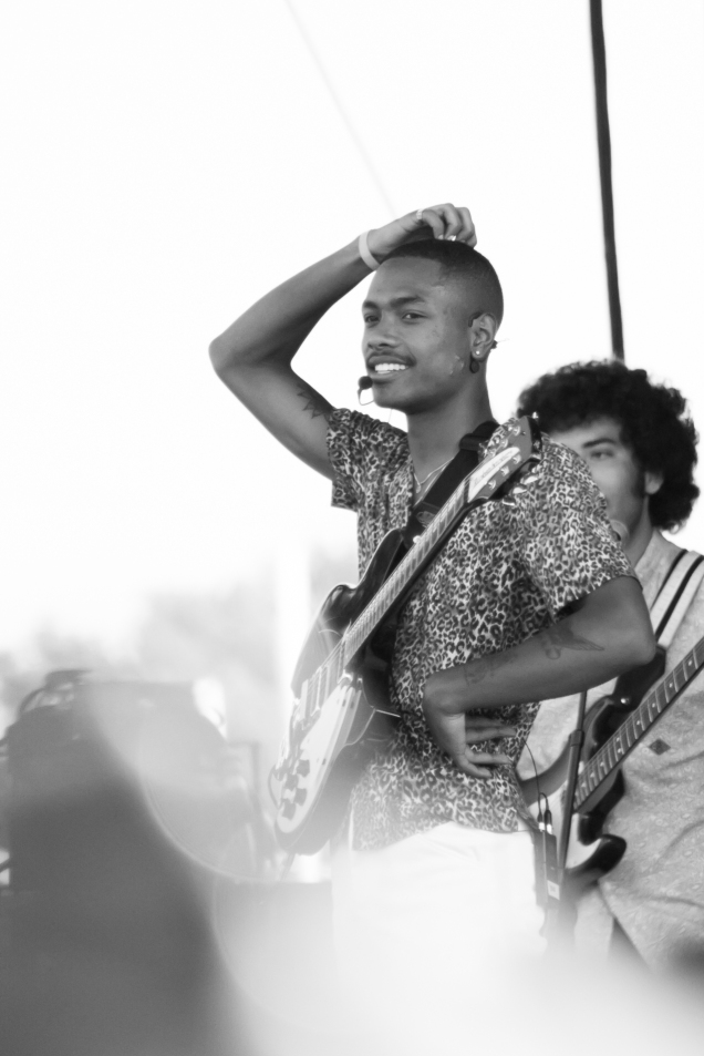 Steve Lacy at the CAMP stage