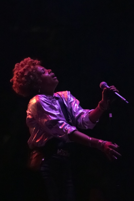 Kelis appeared for a rare performance