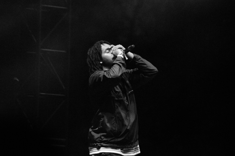 Odd Future native Earl Sweatshirt performed on Day 2 of Flog Gnaw