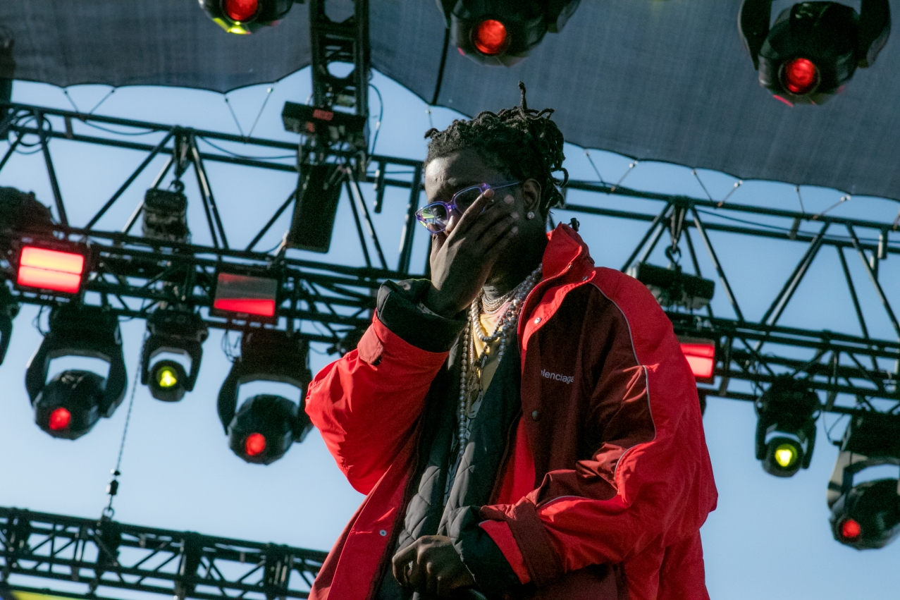 Young Thug [Photo Credit: Matt Vinas]