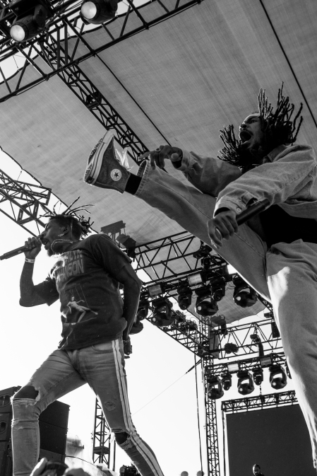 Flatbush Zombies [Photo Credit: Matt Vinas]