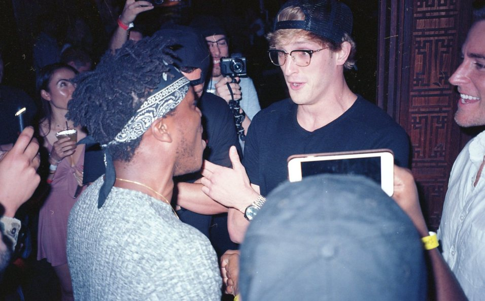 KSI and Logan Paul