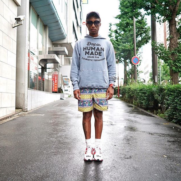 """6893208d8 """"A Day In Tokyo"""" by Pharrell Williams – THE 5TH ELEMENT MAGAZINE"""